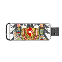 Imperial Coat Of Arms Of Austria Hungary  Portable Usb Flash (two Sides)