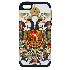 Imperial Coat Of Arms Of Austria Hungary  Apple Iphone 5 Hardshell Case (pc+silicone)
