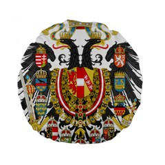 Imperial Coat Of Arms Of Austria Hungary  Standard 15  Premium Round Cushions