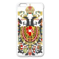 Imperial Coat Of Arms Of Austria Hungary  Apple Iphone 6 Plus/6s Plus Enamel White Case