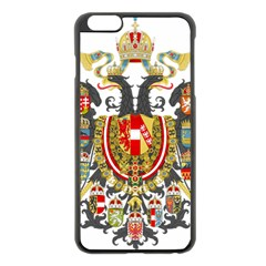 Imperial Coat Of Arms Of Austria Hungary  Apple Iphone 6 Plus/6s Plus Black Enamel Case