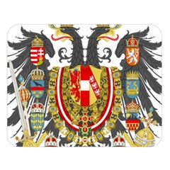 Imperial Coat Of Arms Of Austria Hungary  Double Sided Flano Blanket (large)