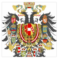 Imperial Coat Of Arms Of Austria Hungary  Large Satin Scarf (square)