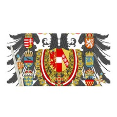 Imperial Coat Of Arms Of Austria Hungary  Satin Wrap