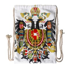 Imperial Coat Of Arms Of Austria Hungary  Drawstring Bag (large)