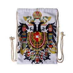 Imperial Coat Of Arms Of Austria Hungary  Drawstring Bag (small)