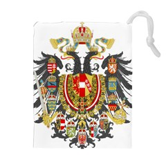 Imperial Coat Of Arms Of Austria Hungary  Drawstring Pouches (extra Large)