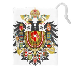 Imperial Coat Of Arms Of Austria Hungary  Drawstring Pouches (xxl)