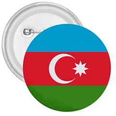 Roundel Of Azerbaijan Air Force 3  Buttons by abbeyz71
