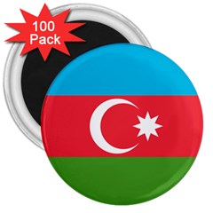 Roundel Of Azerbaijan Air Force 3  Magnets (100 Pack) by abbeyz71