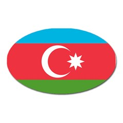 Roundel Of Azerbaijan Air Force Oval Magnet by abbeyz71