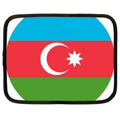 Roundel Of Azerbaijan Air Force Netbook Case (xl)  by abbeyz71