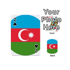 Roundel Of Azerbaijan Air Force Playing Cards 54 (mini)  by abbeyz71