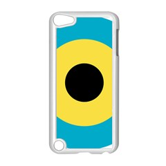 Roundel Of Royal Bahamas Defence Force Air Wing Apple Ipod Touch 5 Case (white) by abbeyz71