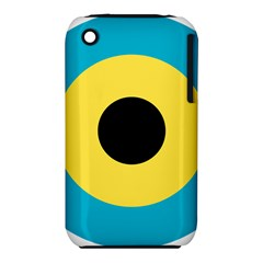 Roundel Of Royal Bahamas Defence Force Air Wing Iphone 3s/3gs by abbeyz71