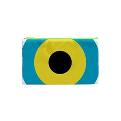 Roundel Of Royal Bahamas Defence Force Air Wing Cosmetic Bag (xs) by abbeyz71