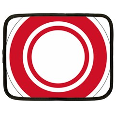 Roundel Of Bahrain Air Force Netbook Case (xl)  by abbeyz71