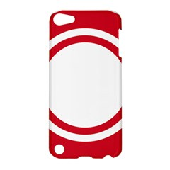 Roundel Of Bahrain Air Force Apple Ipod Touch 5 Hardshell Case by abbeyz71
