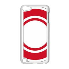 Roundel Of Bahrain Air Force Apple Ipod Touch 5 Case (white) by abbeyz71