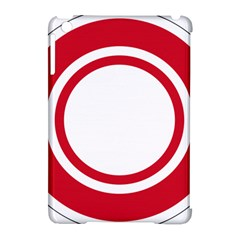 Roundel Of Bahrain Air Force Apple Ipad Mini Hardshell Case (compatible With Smart Cover) by abbeyz71
