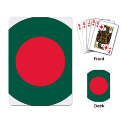Roundel Of Bangladesh Air Force Playing Card by abbeyz71