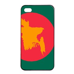 Flag Of Bangladesh, 1971 Apple Iphone 4/4s Seamless Case (black) by abbeyz71