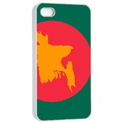 Flag Of Bangladesh, 1971 Apple Iphone 4/4s Seamless Case (white) by abbeyz71