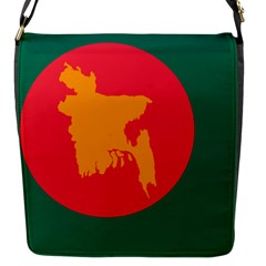 Flag Of Bangladesh, 1971 Flap Messenger Bag (s) by abbeyz71