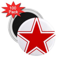 Roundel Of Belarusian Air Force 2 25  Magnets (100 Pack)  by abbeyz71