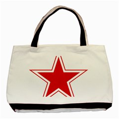 Roundel Of Belarusian Air Force Basic Tote Bag (two Sides) by abbeyz71