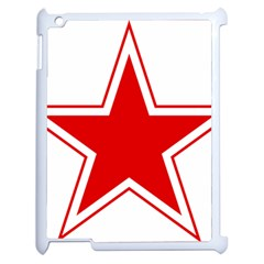 Roundel Of Belarusian Air Force Apple Ipad 2 Case (white) by abbeyz71