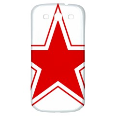 Roundel Of Belarusian Air Force Samsung Galaxy S3 S Iii Classic Hardshell Back Case by abbeyz71