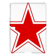 Roundel Of Belarusian Air Force Samsung Galaxy Tab S (10 5 ) Hardshell Case  by abbeyz71