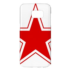Roundel Of Belarusian Air Force Samsung Galaxy S7 Edge Hardshell Case by abbeyz71