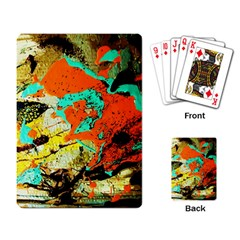 Fragrance Of Kenia 9 Playing Card by bestdesignintheworld