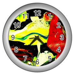 Drama 1 Wall Clocks (silver)