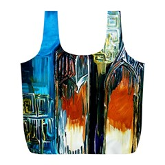 Ceramics Of Ancient Land 6 Full Print Recycle Bags (l)  by bestdesignintheworld
