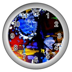 Balboa   Island On A Snd 3 Wall Clocks (silver)