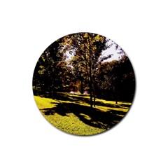 Highland Park 17 Rubber Coaster (round)