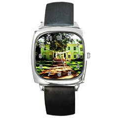 Highland Park 15 Square Metal Watch