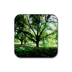 Highland Park 14 Rubber Square Coaster (4 Pack)