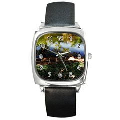 Highland Park 10 Square Metal Watch