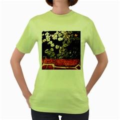 Highland Park 4 Women s Green T Shirt