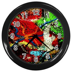 Coffee Land 1 Wall Clocks (black)