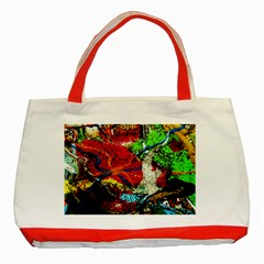 Coffee Land 1 Classic Tote Bag (red)