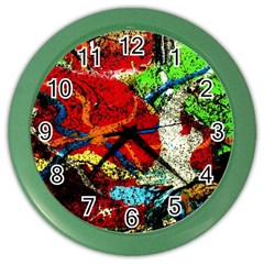 Coffee Land 1 Color Wall Clocks