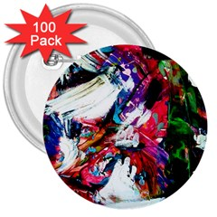 Way In A Tiland 3  Buttons (100 Pack)
