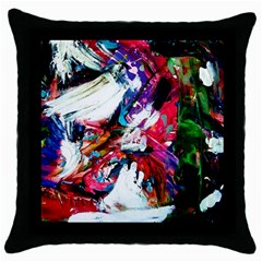 Way In A Tiland Throw Pillow Case (black)