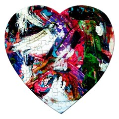 Way In A Tiland Jigsaw Puzzle (heart)