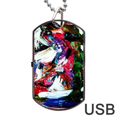 Way In A Tiland Dog Tag Usb Flash (two Sides)